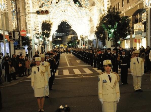 神戸ルミナリエ2016混雑予想消灯式
