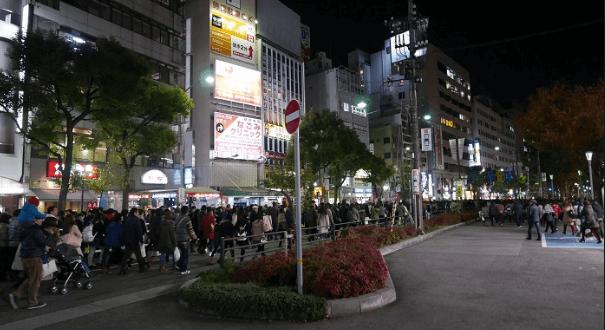 神戸ルミナリエ2016混雑予想点灯式