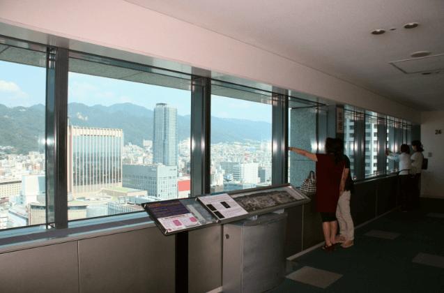 神戸ルミナリエ2016開催場所神戸市役所24階展望ロビー2