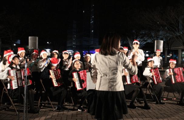 福岡タワーイルミネーション2015点灯式2