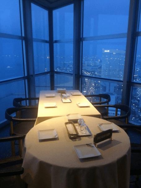 福岡タワーイルミネーション2016スカイラウンジ