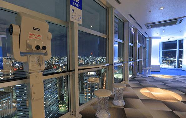 福岡タワーイルミネーション2016展望室
