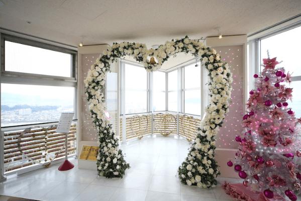 福岡タワーイルミネーション2016恋人の聖地