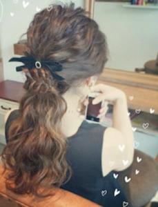 結婚式髪型ゆるふわロング