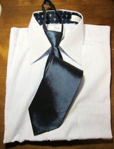 葬式親族服装男性ネクタイ100円均一