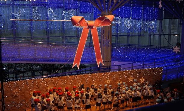 長岡イルミネーション2016丘陵公園点灯式