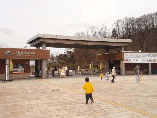 長岡イルミネーション2016丘陵公園駐車場2
