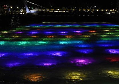 門司港イルミネーション2016水中イルミネーション4