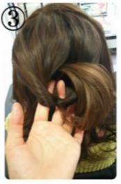 くるりんぱ髪型3