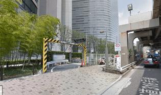 カレッタ汐留イルミネーション2016駐車場入口