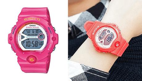 クリスマスプレゼント彼女高校生腕時計Baby-G