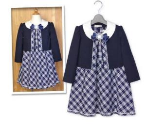 ポンパレモール入学式女の子服装ワンピボレロ