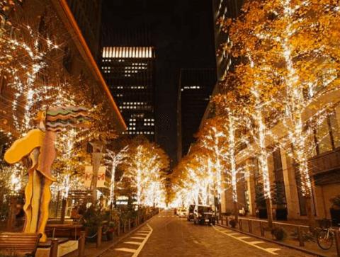 全国クリスマスイルミネーションランキング2016丸の内イルミネーション