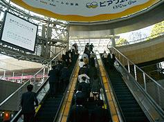 六本木ヒルズけやき坂イルミネーション2016アクセス六本木駅3