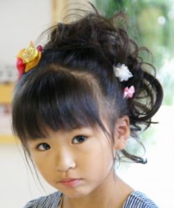 女の子髪型クルリンパ