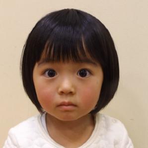 子供髪型ボブアレンジ
