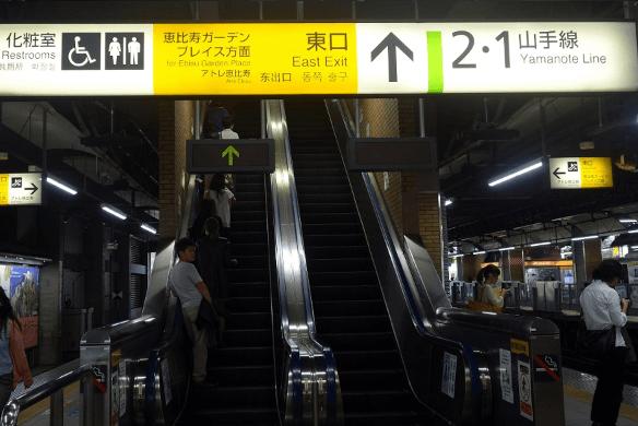 恵比寿ガーデンプレイスイルミネーション2016アクセス恵比寿駅東口