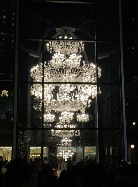 恵比寿ガーデンプレイスイルミネーション2016点灯時間バカラシャンデリア