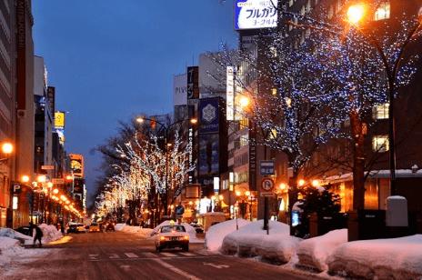 札幌ホワイトイルミネーション2016駅前通会場