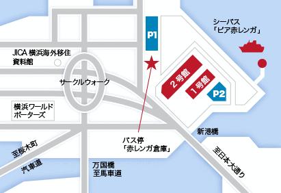 横浜赤レンガ倉庫イルミネーション2016駐車場地図
