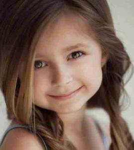 髪型子供女の子前髪伸ばす