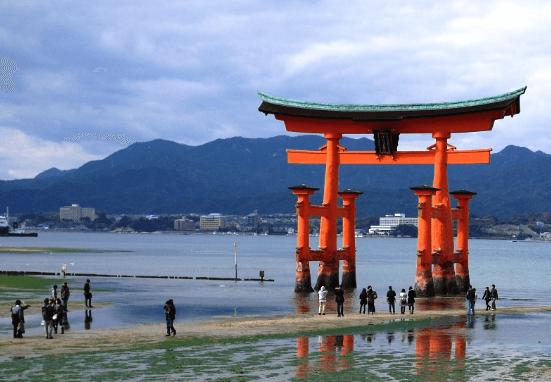 トワイライトエクスプレス瑞風運行ルート厳島神社