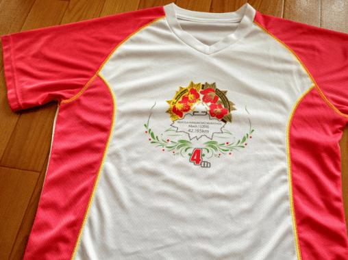 マラソン大会関東初心者子供おすすめ古河はなももマラソンTシャツ