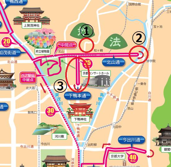 京都マラソン2017コース高低差5