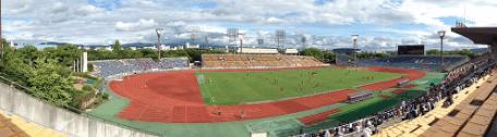 京都マラソン2017西京極総合運動公園