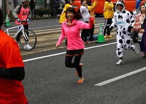 愛媛マラソンコース2017年高橋尚子