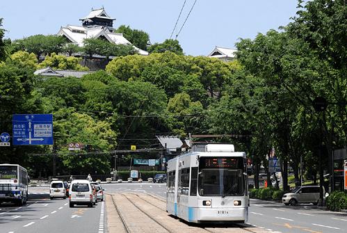 熊本城マラソン2017交通規制熊本市役所前通町筋
