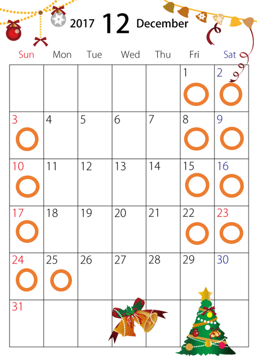 2017年軽井沢高原教会キャンドルナイトの日程