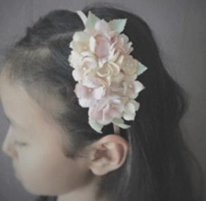 お花カチューシャ