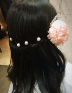 髪型かわいい