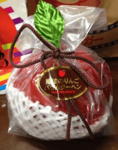 ハウステンボスお菓子魔法のりんごバウムクーヘン