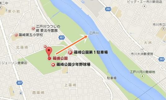 江戸川花火大会篠崎公園