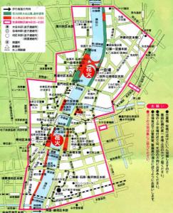 隅田川花火大会混む
