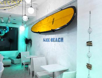 アリービーチ砂浜カフェ