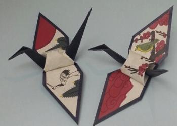 オリフだ鶴