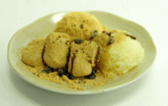 バニラアイス信玄餅