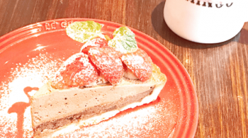 フラミンゴケーキ