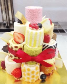 イリナのロールケーキ母の日