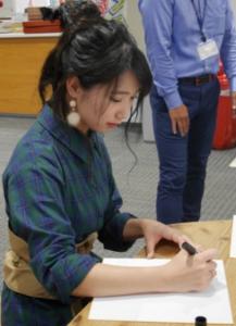 上野優華サイン会