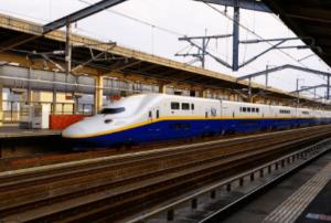 福島駅新幹線ホーム