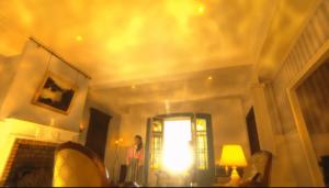美しくゆらめく部屋の明かり