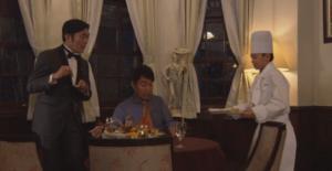 おすそ分けの手料理と子どもシェフ