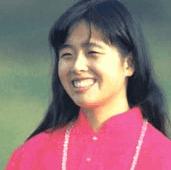 若いときの松本和子さん。