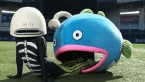 謎の魚第三