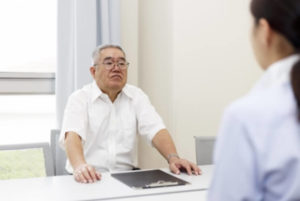 高齢者の免許証返納についての相談