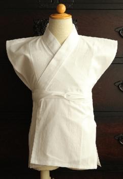 3歳の男の子の着付けに必要な袖なし襦袢